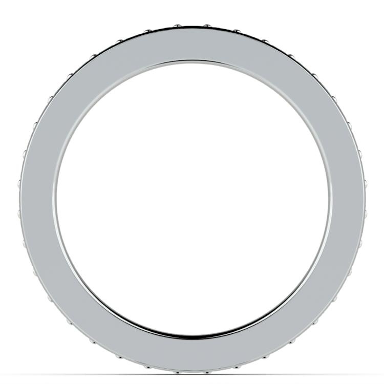 Pave Diamond Eternity Ring in Platinum (3/4 ctw) | 03