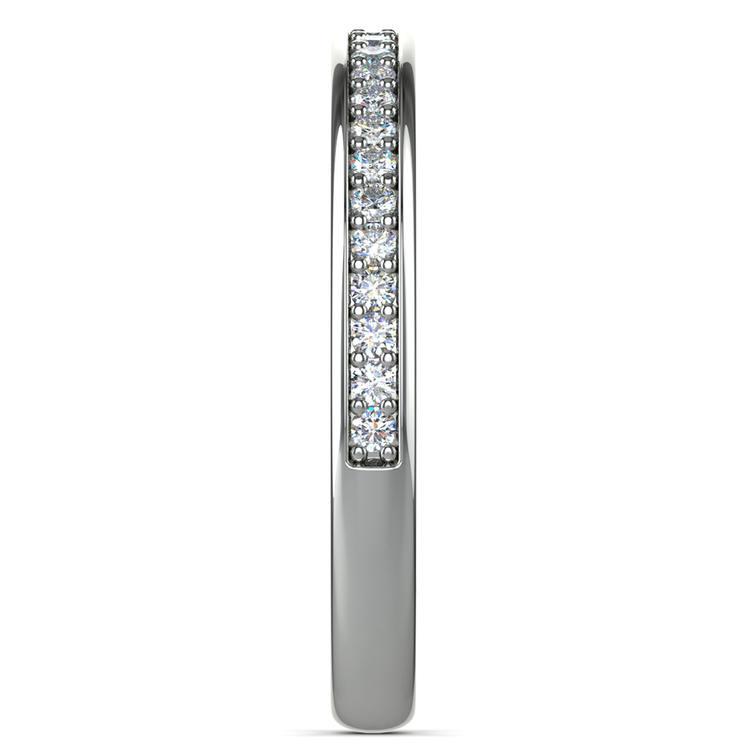 Pave Diamond Wedding Ring in Platinum  | 05