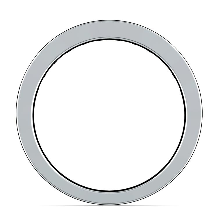 Princess Channel Diamond Wedding Ring in Platinum (3/4 ctw) | 03