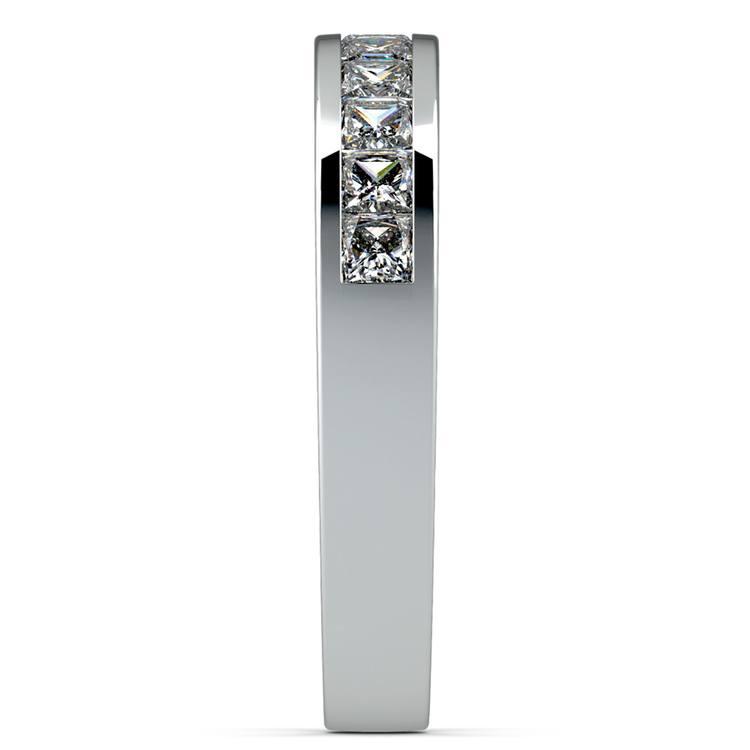Princess Channel Diamond Wedding Ring in Platinum (3/4 ctw) | 05