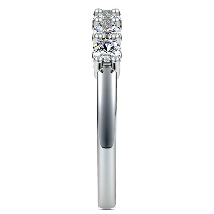 Seven Diamond Wedding Ring in Platinum (3/4 ctw) | 05