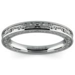 Antique Wedding Ring in Platinum | Thumbnail 02