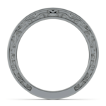 Antique Wedding Ring in Platinum | Thumbnail 03