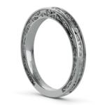 Antique Wedding Ring in Platinum | Thumbnail 04