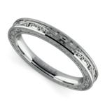 Antique Wedding Ring in Platinum | Thumbnail 01