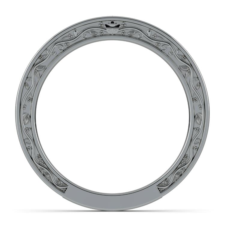 Antique Wedding Ring in Platinum | 03