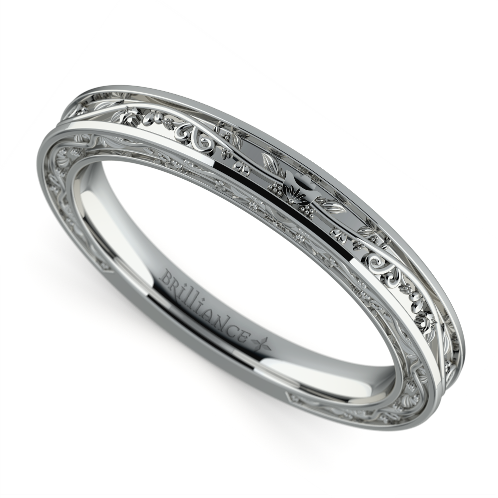vintage wedding rings for women antique wedding ring in platinum 8332