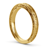 Antique Wedding Ring in Yellow Gold | Thumbnail 04