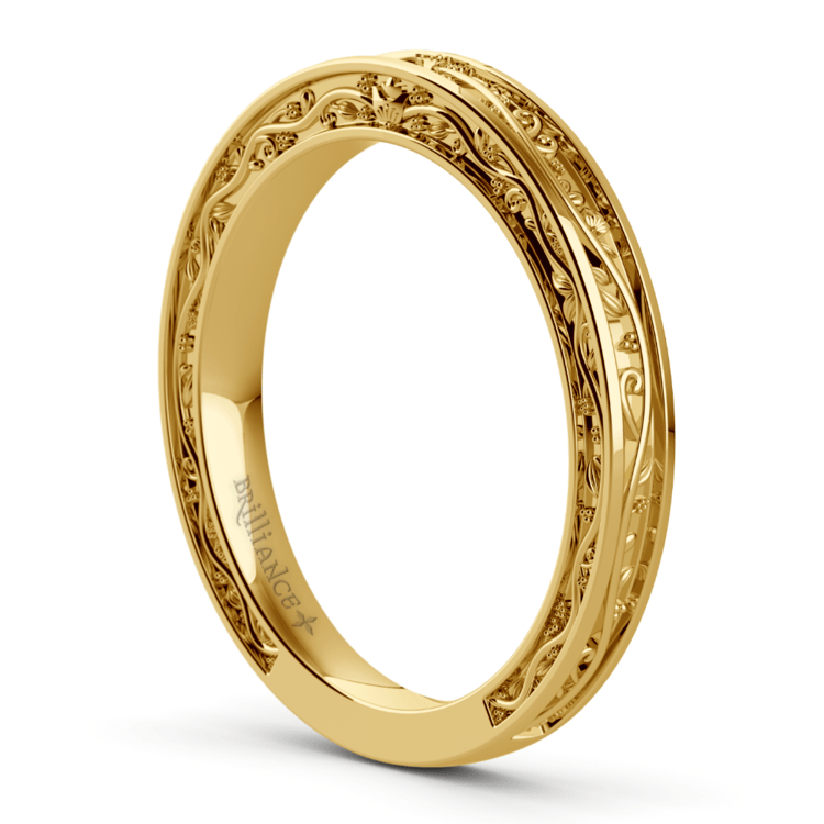 Antique Wedding Ring in Yellow Gold | 04