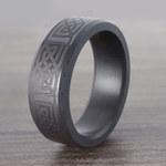 Ares - Celtic Design Mens Elysium Wedding Band | Thumbnail 06