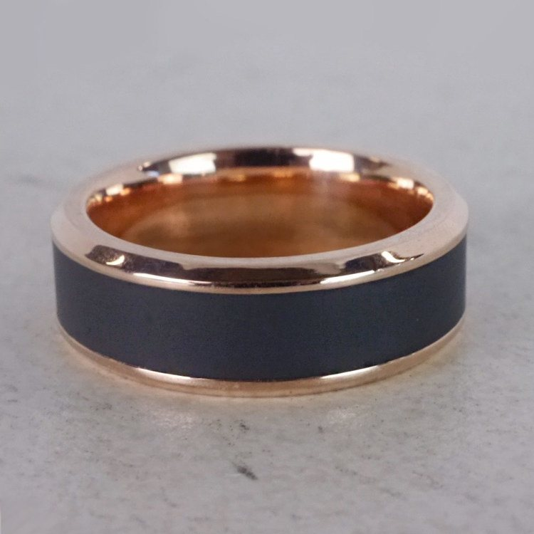 Ares - Elysium Wedding Band in Rose Gold | 05