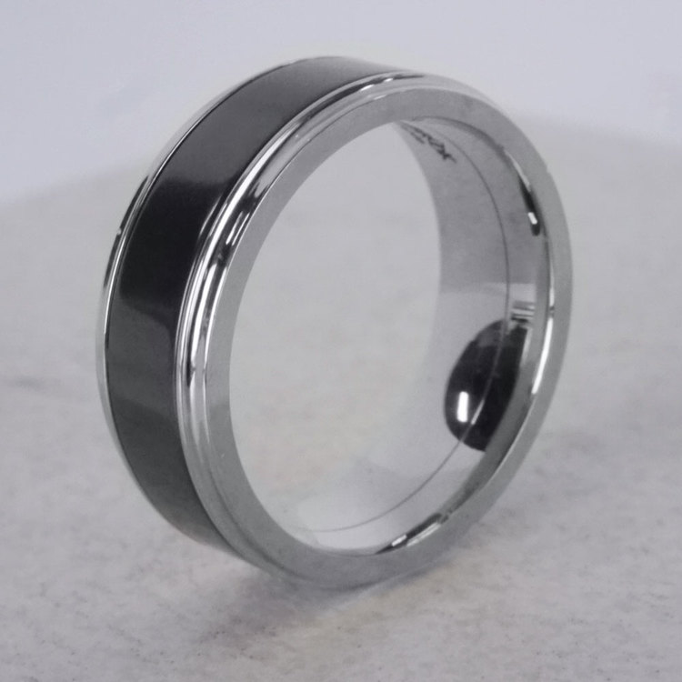 Ares - Elysium Wedding Band in White Gold | 06