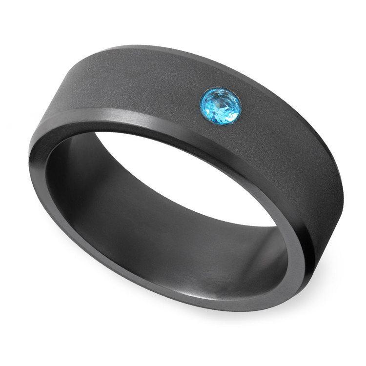 Ares - Blue Diamond Inset Matte Elysium Band | 01