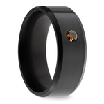 Ares - Orange Diamond Inset Polish Elysium Ring | Thumbnail 02