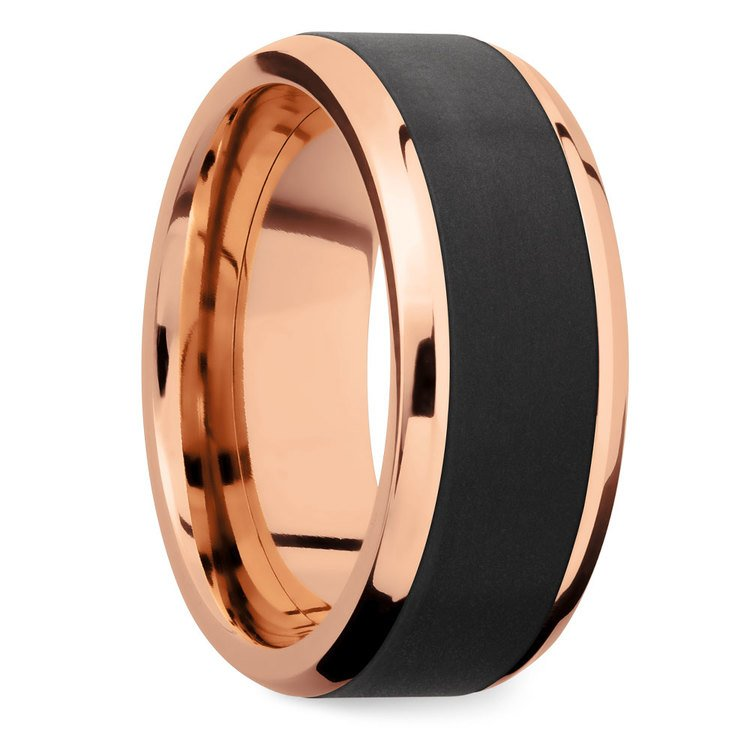 Ares - Elysium Wedding Band in Rose Gold | 02