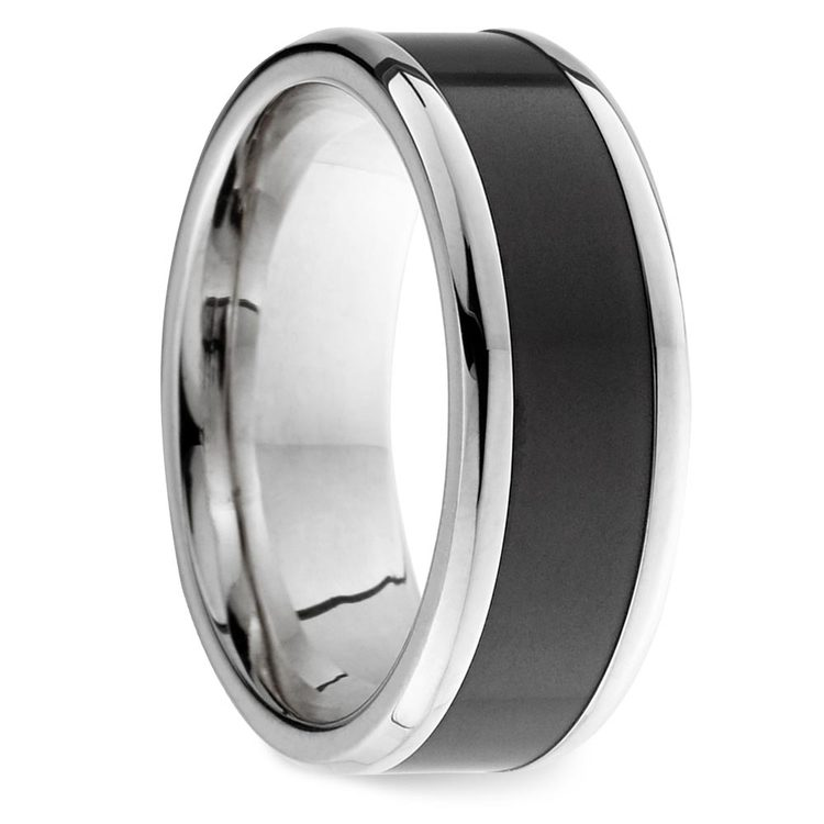 Ares - Elysium Wedding Band in White Gold | 02