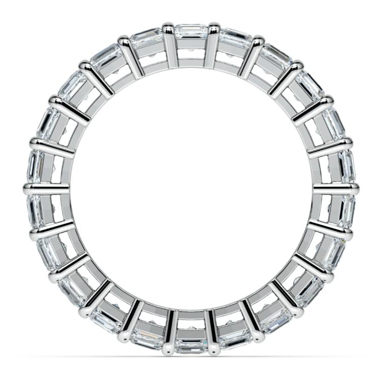 Asscher Diamond Eternity Ring in Platinum (3 3/4 ctw) | 03