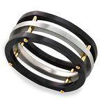 Hex - Cobalt & Zirconium Mens Ring | Thumbnail 01