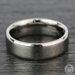 Beveled Men's Wedding Ring in Titanium   Thumbnail 04