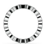 Bezel Diamond Eternity Ring in Platinum (2 ctw) | Thumbnail 03