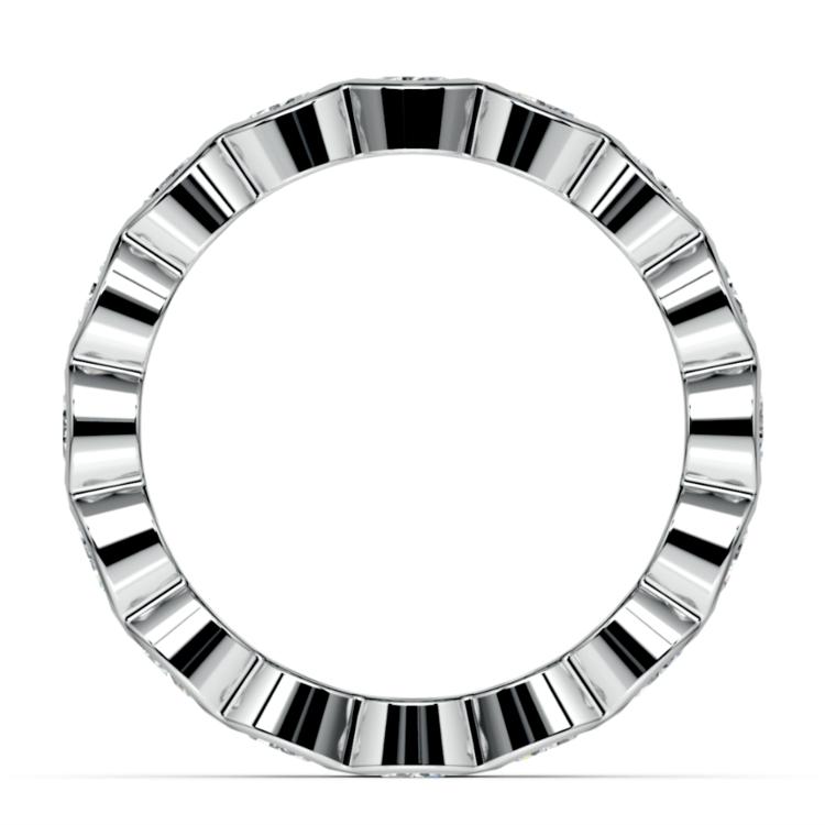 Bezel Diamond Eternity Ring in Platinum (2 ctw) | 03