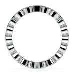 Bezel Diamond Eternity Ring in White Gold (1 ctw) | Thumbnail 03