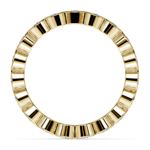 Bezel Diamond Eternity Ring in Yellow Gold (1 ctw) | Thumbnail 03