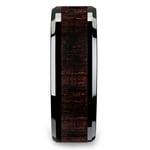 Black Ebony - Black Ceramic Mens Ring with Wood Inlay | Thumbnail 03