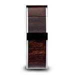 Black Walnut Wood Inlay Men's Wedding Ring in Tungsten (10mm) | Thumbnail 03