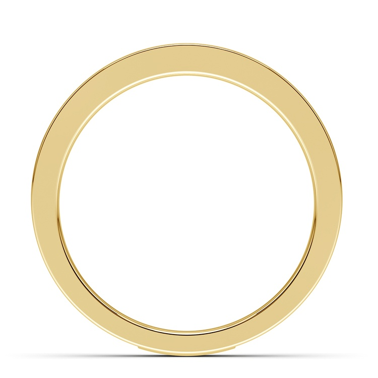 Celtic Knot Men's Wedding Ring in Yellow Gold | 03