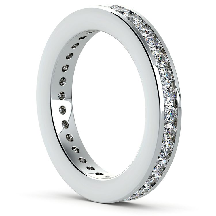 Channel Diamond Eternity Ring in Platinum (1 ctw) | 04