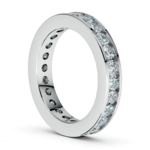 Channel Diamond Eternity Ring in Platinum (1 3/4 ctw) | Thumbnail 04