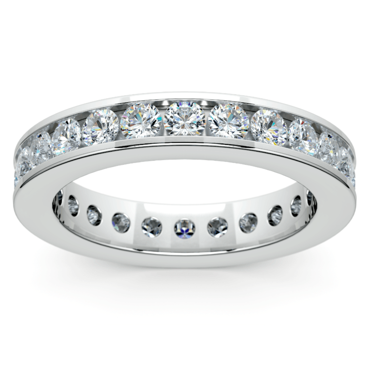 Channel Diamond Eternity Ring in Platinum (1 3/4 ctw) | 02
