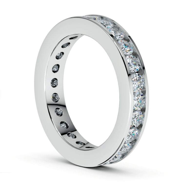 Channel Diamond Eternity Ring in Platinum (1 3/4 ctw) | 04