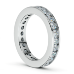 Channel Diamond Eternity Ring in White Gold (1 3/4 ctw) | Thumbnail 04