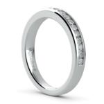 Channel Diamond Wedding Ring in Platinum | Thumbnail 04