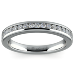 Channel Diamond Wedding Ring in White Gold | Thumbnail 02