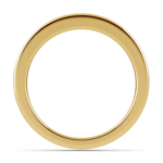 Channel Diamond Wedding Ring in Yellow Gold | Thumbnail 03