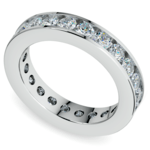 Channel Diamond Eternity Ring in Platinum (2 1/4 ctw) | Thumbnail 01