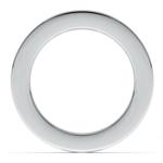 Channel Diamond Eternity Ring in Platinum (3 ctw) | Thumbnail 03