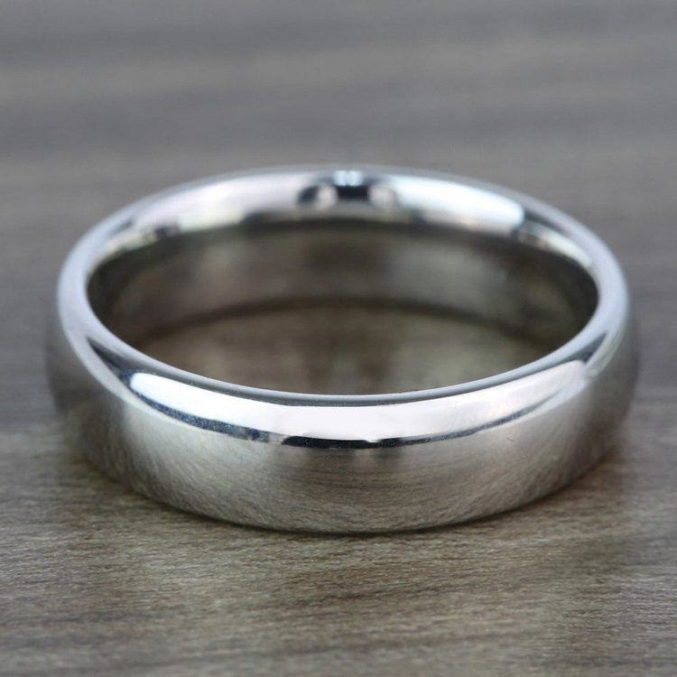 The Classic - Comfort Fit 6mm Tungsten Mens Band | 05