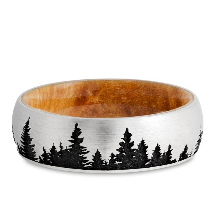 The Woodsman - Pine Tree Cobalt Mens Band | 03