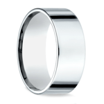 Flat Men's Wedding Ring in Palladium (8mm) | Thumbnail 02