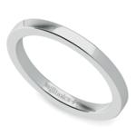 Flat Wedding Ring in Platinum (2mm) | Thumbnail 01