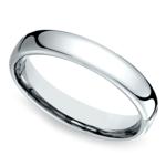Comfort Fit Men's Wedding Ring in Cobalt (4.5mm) | Thumbnail 01