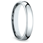 Comfort Fit Men's Wedding Ring in Cobalt (4.5mm) | Thumbnail 02