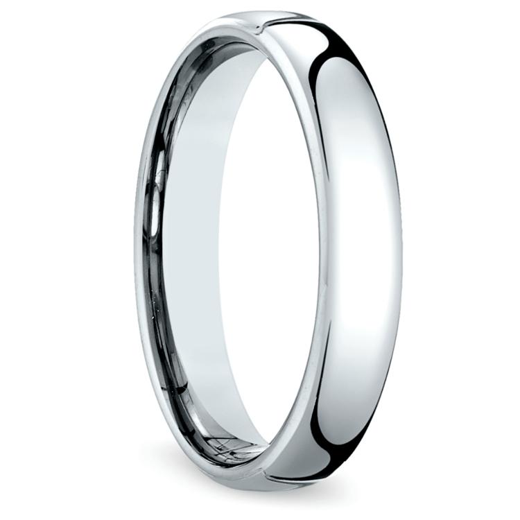 Comfort Fit Men's Wedding Ring in Cobalt (4.5mm) | 02