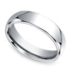 Comfort Fit Men's Wedding Ring in Cobalt (6mm) | Thumbnail 01
