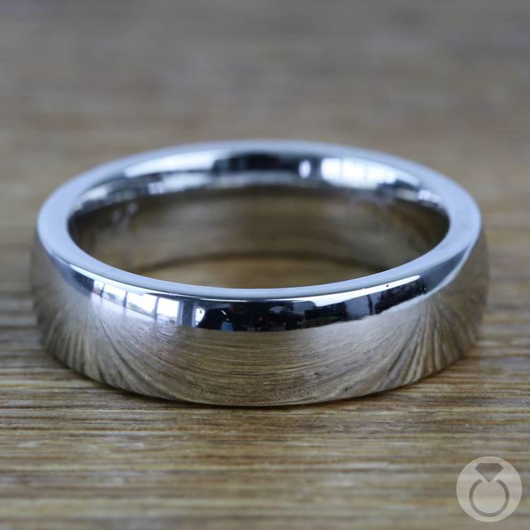 Comfort Fit Men's Wedding Ring in Cobalt (6mm) | 03
