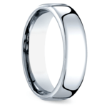 Comfort Fit Men's Wedding Ring in Cobalt (6.5mm) | Thumbnail 02